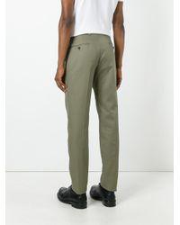 Alexander McQueen   Green Straight-leg Chinos for Men   Lyst