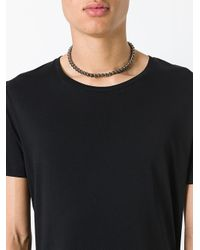 DSquared² - Metallic Rounded Bead Choker for Men - Lyst