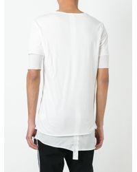 Thom Krom | White Layered T-shirt for Men | Lyst