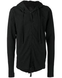 Thom Krom | Black Zipped Hoodie for Men | Lyst