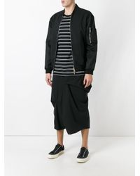 Moohong - Black Skort Trousers for Men - Lyst