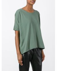 Roberto Collina - Green Loose-fit T-shirt - Lyst