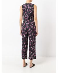 Sonia by Sonia Rykiel - Multicolor Floral Print Jumpsuit - Lyst