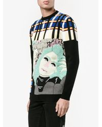 J.W.Anderson - Multicolor Puzzle Graphic Jumper for Men - Lyst