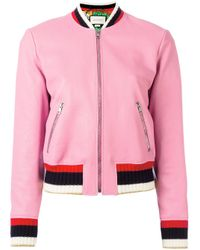 Gucci - Pink Blind For Love Bomber - Lyst
