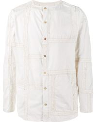 By Walid | Multicolor Collarless Shirt for Men | Lyst