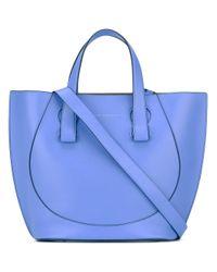 Victoria Beckham | Blue Shopper Tote | Lyst