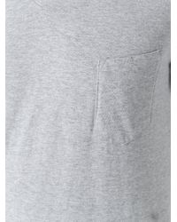 Hydrogen - Gray V-neck T-shirt for Men - Lyst