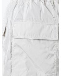 Rick Owens - Gray Drop-crotch Cargo Shorts for Men - Lyst