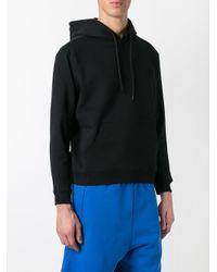 Balenciaga - Black - Logo Embroidered Hoodie - Men - Cotton/viscose - L for Men - Lyst