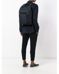 Prada - Blue - Quilted Backpack - Men - Calf Leather/polyamide - One Size for Men - Lyst