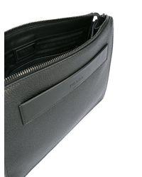 Prada - Black - Clutch Bag - Men - Calf Leather - One Size for Men - Lyst