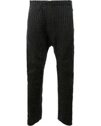 Masnada | Black Slouch Knitted Trousers for Men | Lyst