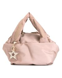 See By Chloé | Pink - Slouch Tote - Women - Cotton/polyester/pvc/metal - One Size | Lyst