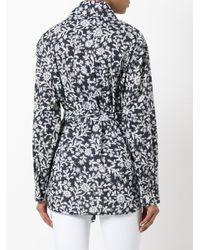 Vivienne Westwood   Blue Flower Print Shirt   Lyst