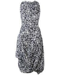 Vivienne Westwood Anglomania | Blue Flower Print Dress | Lyst