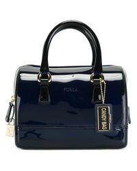 Furla | Blue Mini Duffle Bag | Lyst