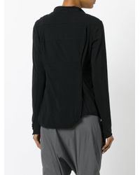 Rundholz - Black - Buttoned Jacket - Women - Cotton/spandex/elastane - S - Lyst