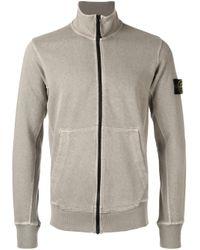 Stone Island | Multicolor Zip-fastened Sweatshirt for Men | Lyst