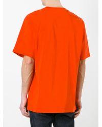 MSGM - White 'i Wish' Print T-shirt for Men - Lyst