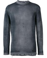 Avant Toi - Gray High Neck Slim-fit Jumper for Men - Lyst