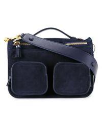 Anya Hindmarch | Black Ripley Cross Body Bag | Lyst