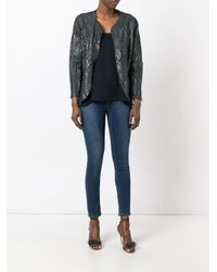 Salvatore Santoro - Black Shell Jacket - Lyst