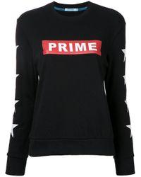 Guild Prime   Black - Logo Print Sweatshirt - Women - Cotton - 36   Lyst