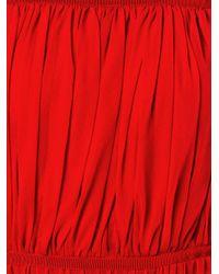 Giambattista Valli - Red Off The Shoulder Dress - Lyst