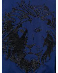 Versus - Black Lion Embroidered Bomber Jacket for Men - Lyst