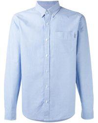 Carhartt | Blue Plain Shirt for Men | Lyst