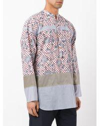 Kolor - Multicolor Floral Dots Shirt for Men - Lyst