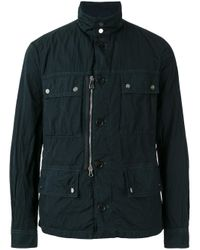 Peuterey | Blue Multi-pockets Down Jacket for Men | Lyst