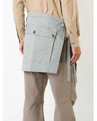 Undercover - Green - Long Tied Pocket Belt - Men - Cotton - One Size for Men - Lyst