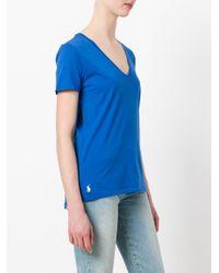 Polo Ralph Lauren - Blue Classic T-shirt - Lyst