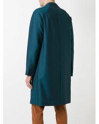 Pal Zileri - Green Button-down Coat for Men - Lyst