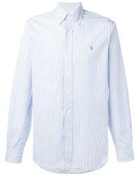 Polo Ralph Lauren | Blue Pastel Striped Shirt for Men | Lyst