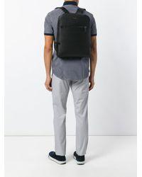 Michael Kors - Black - 'harrison' Backpack - Men - Cotton/leather - One Size for Men - Lyst