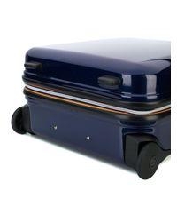 K-Way - Blue Hard Wheeled Suitcase - Lyst