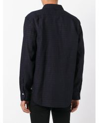 Rag & Bone - Blue Horizontal Striped Shirt for Men - Lyst
