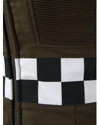 DSquared² - Green Military Mini Dress - Lyst