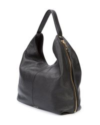 Rebecca Minkoff - Black Zipped Shoulder Bag - Lyst