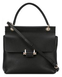 Lanvin | Black Mini Essential Bag | Lyst