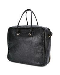 Balenciaga - Black - Blanket Square Tote Bag - Women - Leather - One Size - Lyst
