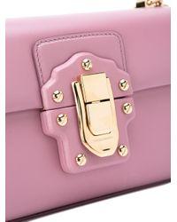 Dolce & Gabbana - Pink Lucia Crossbody Bag - Lyst