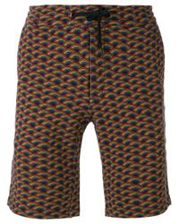 Marc Jacobs - Multicolor Rainbow-print Shorts for Men - Lyst