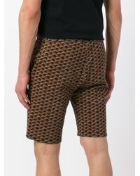 Marc Jacobs - Multicolor Rainbow-print Shorts for Men - Lyst