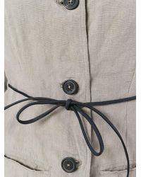 Rundholz - Gray Open Back Jacket - Lyst