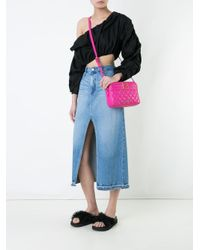 Love Moschino - Pink Quilted Shoulder Bag - Lyst