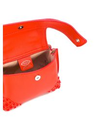 Tod's - Red Mini Crossbody Bag - Lyst